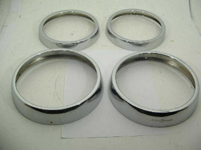 HEADLAMP TRIM RING SET