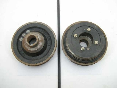 V-BELT  FT CRANK PULLEY ASSY