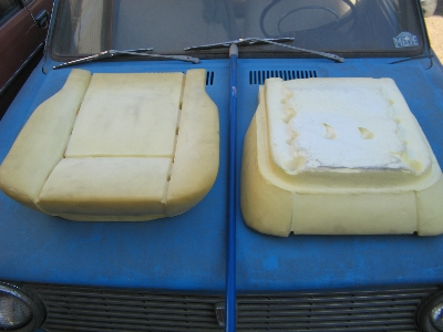 1967-78 LOWER FRONT SEAT FOAM