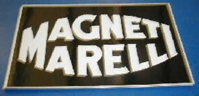 WHITE MAGNETI MARELLI STICKER