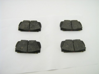 FRONT DISC BRAKE PAD SET