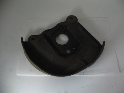 LEFT DISK BRAKE BACKING PLATE