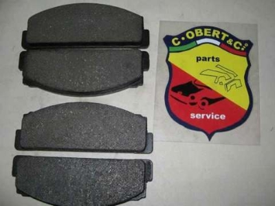 """LATE"" FRONT BRAKE PAD SET"