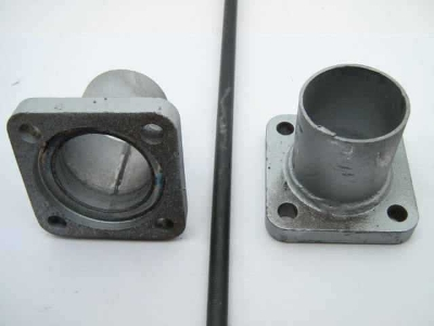 FLANGE FOR END OF TEST PIPE