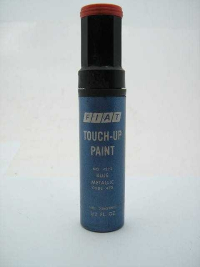 "TOUCH-UP PAINT ""BLUE METALLIC"""