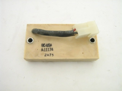 1974-78 SEAT BELT WARNING BOX