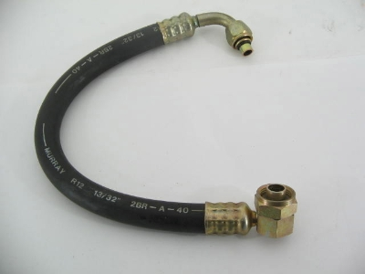HOSE WITH FITTINGS