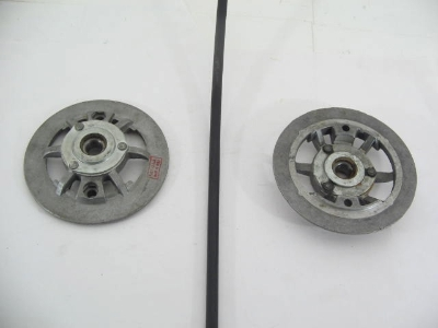 END COVER WITH BEARING