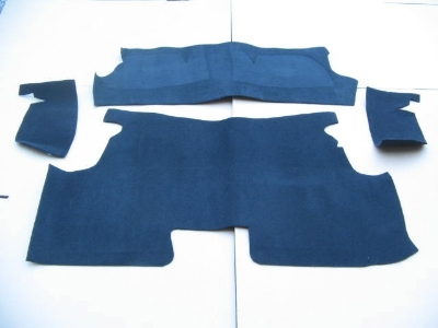 UNDER REAR SEAT MAT SET