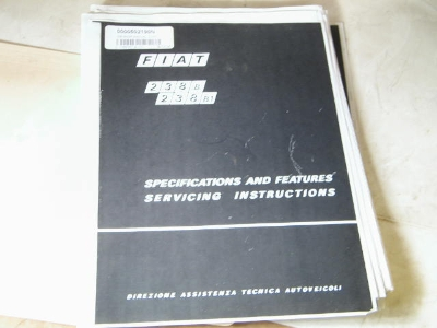 238 SHOP MANUAL, COPY