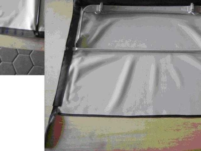 SOFT TOP FRAME WITH MATERIAL