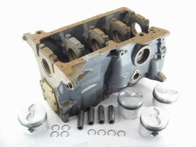 1980-81 FI BARE BLOCK W PISTON