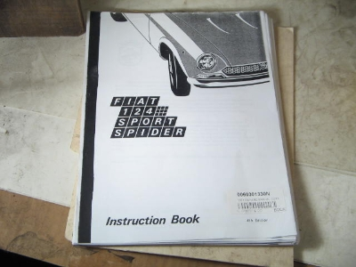 1971 OWNERS MANUAL, COPY