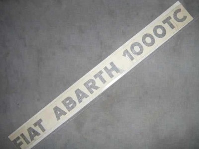 """FIAT ABARTH 1000TC"" STICKER"