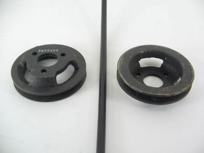 1979 NON CA WATER PUMP PULLEY