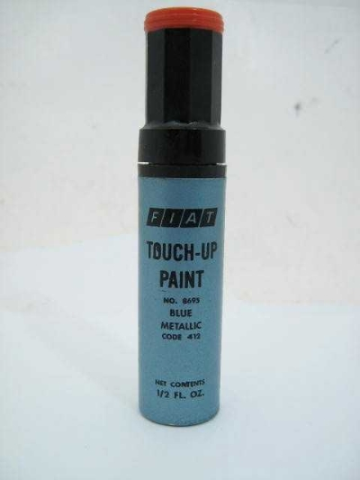 """TOUCH-UP PAINT,""""BLUE METALLIC"""""""