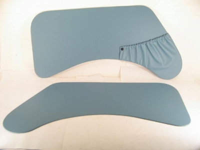 PAIR BLUE FRONT DOOR PANELS