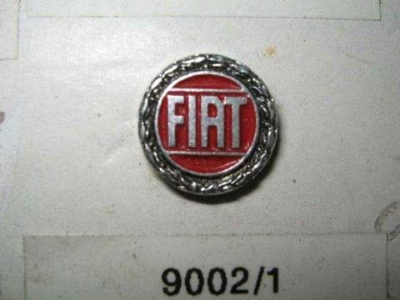 "ROUND ""FIAT"" WREATH PIN"