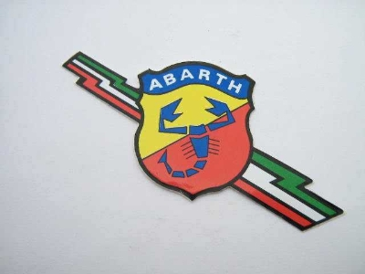 ABARTH LIGHTNING BOLT STICKER