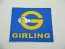 GIRLING BRAKE STICKER, 90 MM