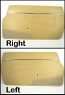 1980-85 BEIGE DOOR PANEL SET