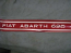 """FIAT ABARTH 695"" STICKER SET"