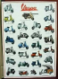 VESPA SCOOTER POSTER WITH CAR