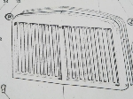 REPRODUCTION FRONT GRILL