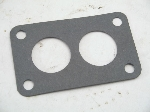 BLACK GASKET WITH TWO HOLES