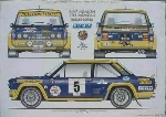 131 ABARTH RALLY POSTER