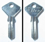 KEY BLANK FOR VARIOUS LOCKS