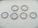 62.0 MM + 2.0 MM O/S RING SET