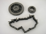TIMING CHAIN & GEAR SET