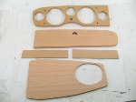 5 PIECE NATURAL WOOD DASH KIT