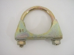 """51 MM, 2"""", EXHAUST PIPE CLAMP"""