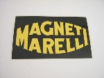 YELLOW MAGNETI MARELLI STICKER