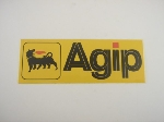 AGIP HORIZONTAL STICKER