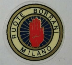 BORRANI RUOTE MILANO STICKER