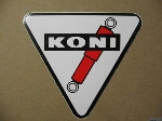 KONI TRIANGULAR STICKER 90 MM