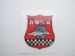 ANSA SHIELD STICKER 35 MM TALL