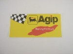 AGIP RACING FORMULA STICKER
