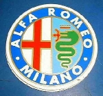 ALFA ROMEO MILANO STICKR 100MM