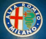 ALFA ROMEO MILANO STICKR 150MM