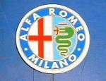 ALFA ROMEO MILANO STICKER 45MM