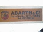 ABARTH & CO CORSO MARCHE STICK