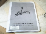 BALLILA 3 SPEED PARTS BOOK