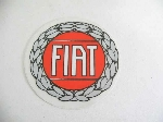 45MM FIAT WREATH EMBLEM STICKR