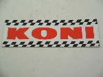KONI STICKER RECTANGLE 200 MM