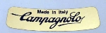CAMPAGNOLO GOLD LEAF STICKER