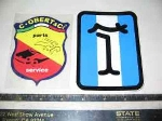 DE TOMASO STICKER 85 X 115 MM